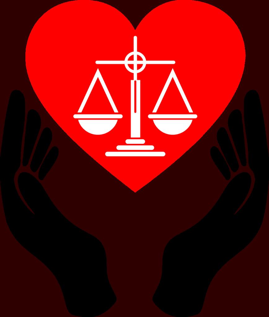 לב עם מאזניים
